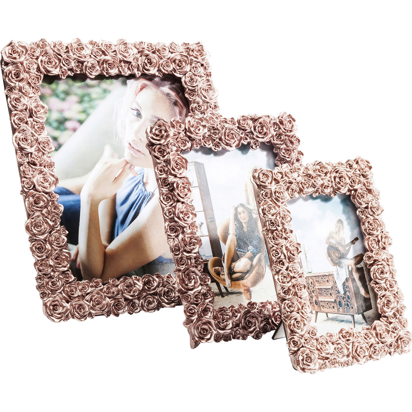 rahmen bilderrahmen fotorahmen bild foto rose rosegold. Black Bedroom Furniture Sets. Home Design Ideas
