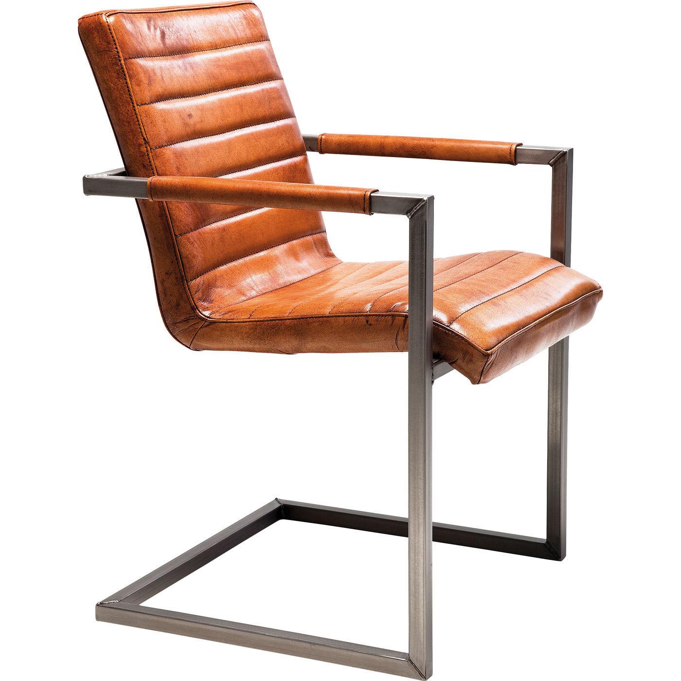 Stuhl freischwinger schwingstuhl b rostuhl armlehnstuhl for Kare design stuhl costa