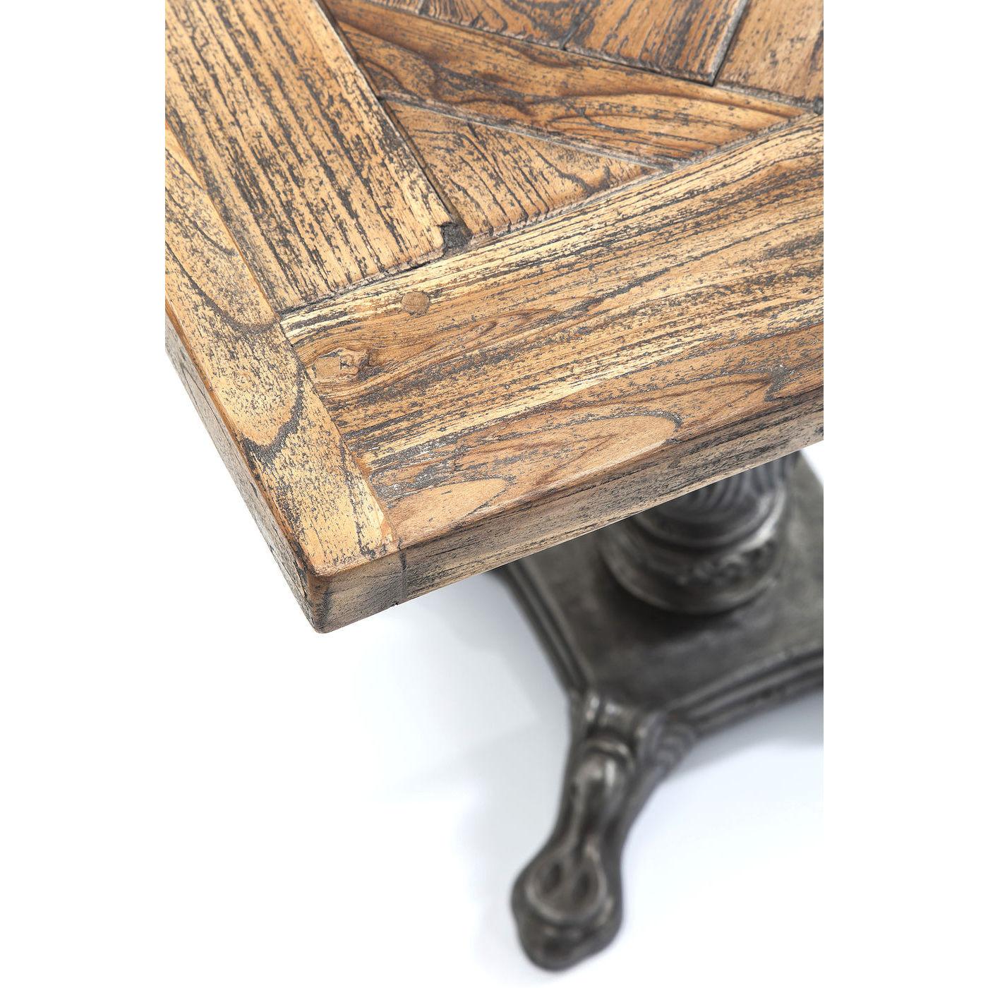 tisch bistrotisch holztisch esstisch quadratisch 70x70 mosaik rustikal neu kare ebay. Black Bedroom Furniture Sets. Home Design Ideas