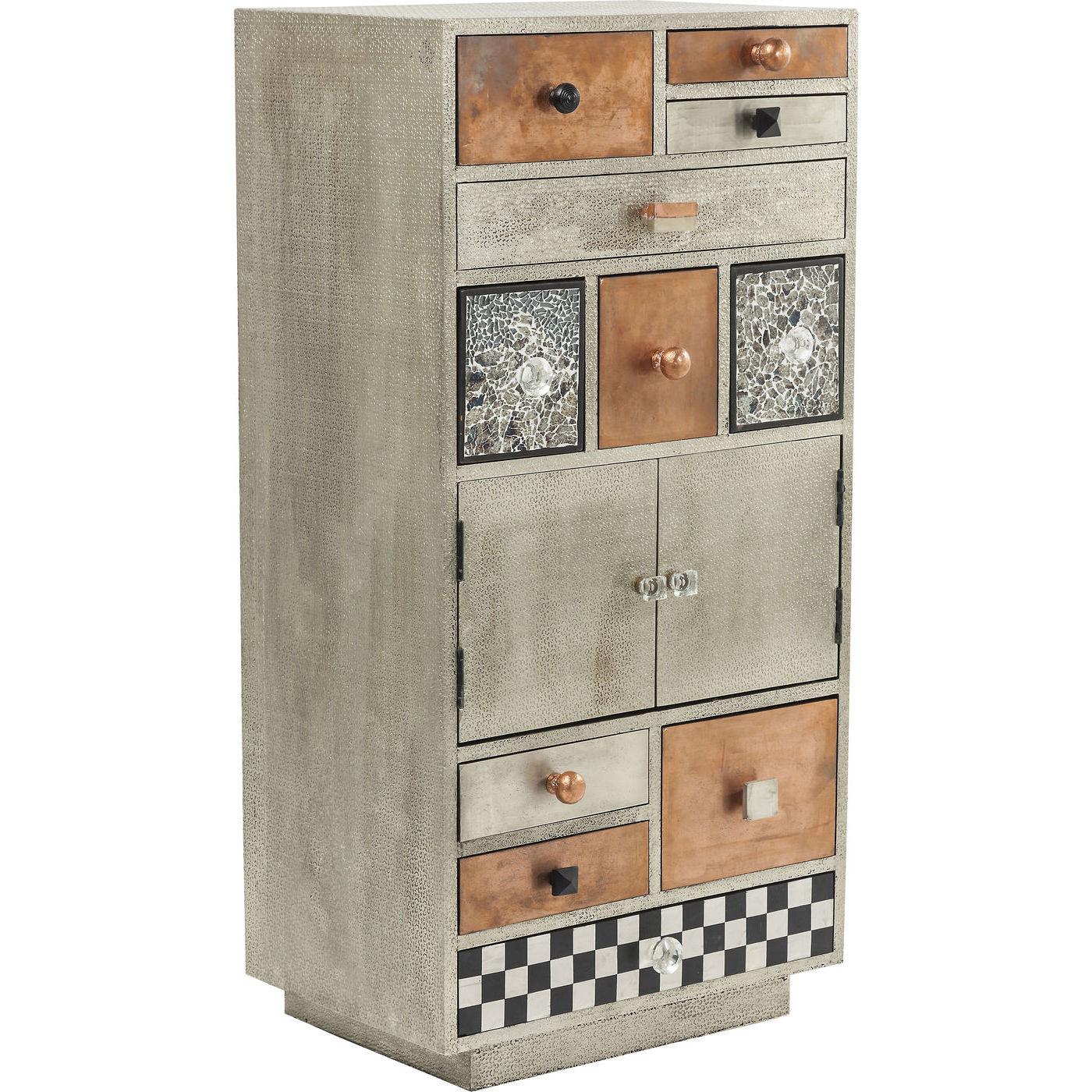beistellschrank kommode aufbewahrung hochkommode marokko neu kare design ebay. Black Bedroom Furniture Sets. Home Design Ideas