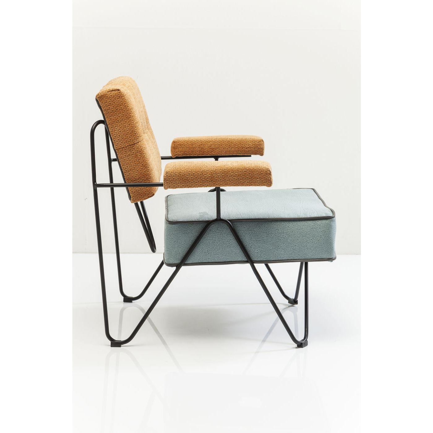 sessel polstersessel relaxsessel cocktailsessel malm triangle neu kare design ebay. Black Bedroom Furniture Sets. Home Design Ideas
